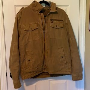 Levi's Canvas Military Jacket with Hood